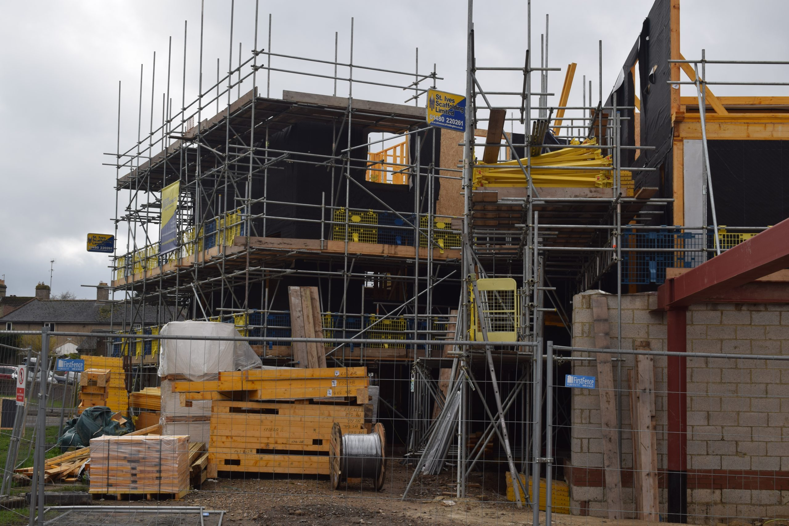 Timber Frame On Constrained Site