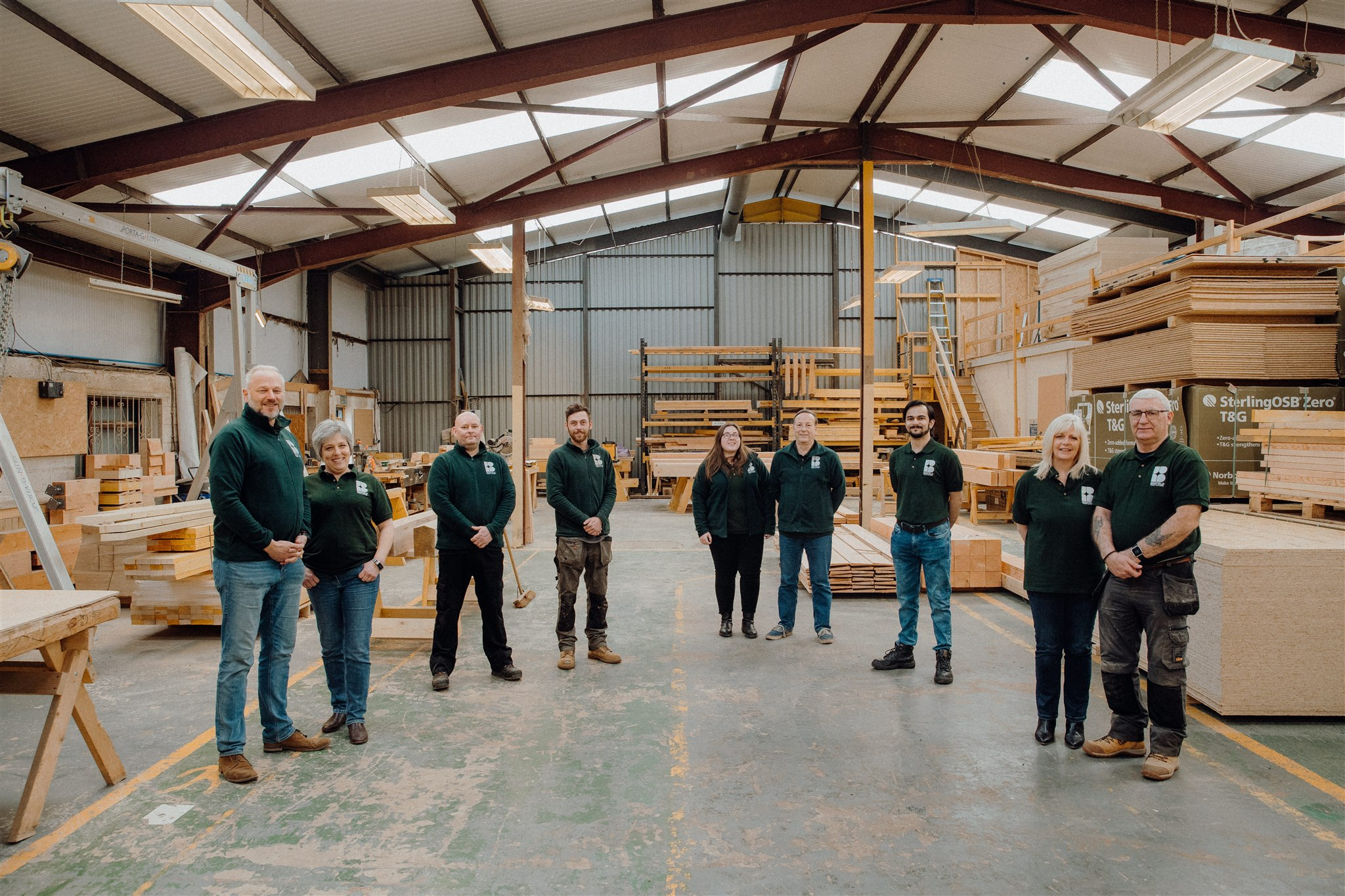 Benfield Timber Buildings Team